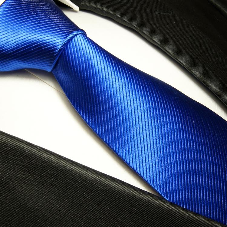 paul malone shop paul malone krawatte 100 seide blau uni 349. Black Bedroom Furniture Sets. Home Design Ideas