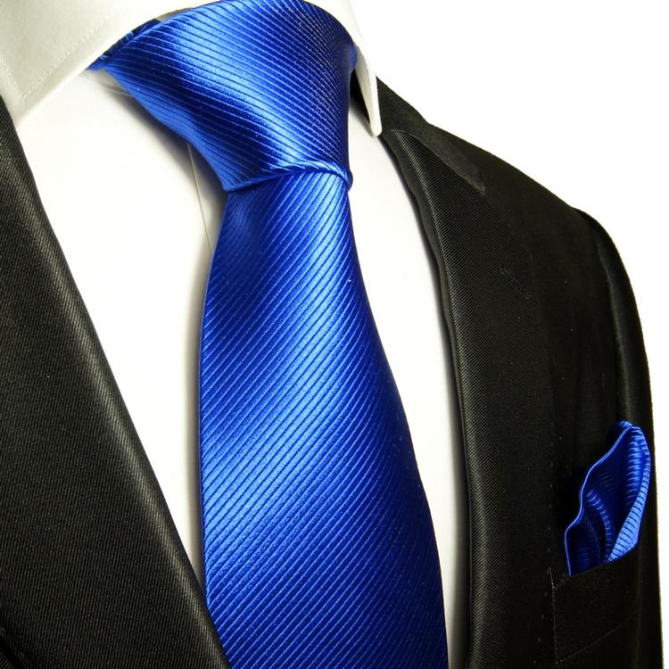 paul malone shop blaue krawatten set 2tlg seidenkrawatte einstecktuch 349. Black Bedroom Furniture Sets. Home Design Ideas