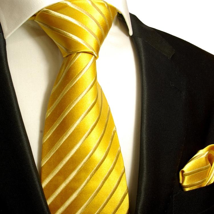 Paul Malone Shop Silk Necktie Set 2pcs Tie