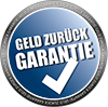 Geld zurueck Garantie