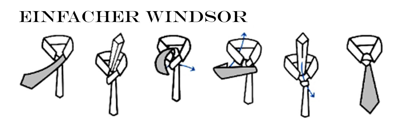 Anleitung Krawatte Binden Krawattenknoten Paul Malone Shop