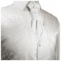 Preview: WEDDING VEST SET white and Shirt Slim Fit white V17HL81