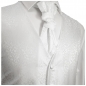 Preview: WEDDING VEST SET white and Wedding Shirt white V43HL8