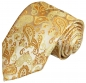 Preview: Hochzeitswesten Set 5tlg gold paisley + Slim fit Hemd creme V16HL82