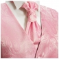 Preview: WEDDING VEST SET pink + SLIM LINE Shirt white V94HL30