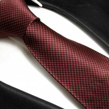 Burgundy mens tie polka dots necktie - silk tie and pocket square and cufflinks