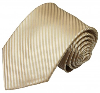 Paul Malone cappuccino brown necktie striped v28