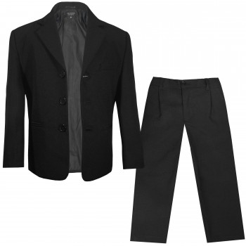 Boys jacket and pants black uni - KA20