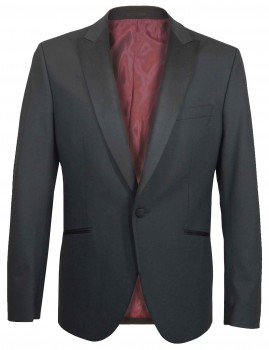 Wedding mens suit dress jacket black