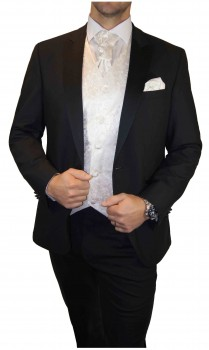 Groom wedding vest ivory 41