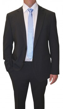 Mens suit anthracite gray | dress suit for men anthracite | stretch