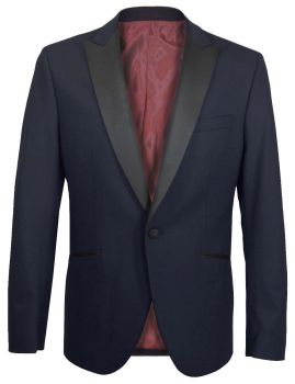 Wedding jacket blue for groom