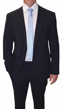 Mens suit blue solid | dress suit for men blue | stretch