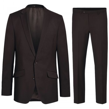 Mens suit brown dress suit for men