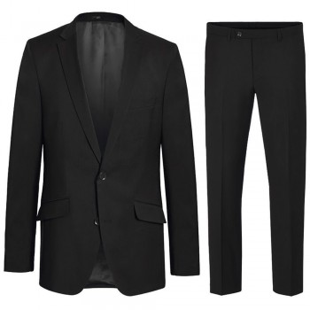 Mens suit black dress suit for men