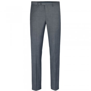 Mens pants light gray solid - suit pants trousers - stretch