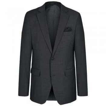 Mens suit jacket anthracite dress jacket for men | stretch