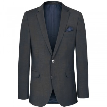 Mens dress sports jacket anthracite for men | slim fit