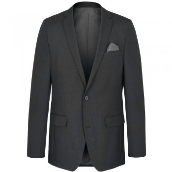 Mens sports jacket anthracite for men | AMF-stich