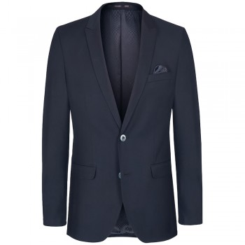 Mens suit jacket blue dress for men | slim fit | AMF-stich