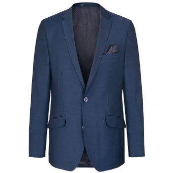 Blue dress jacket for men - AMF-stich