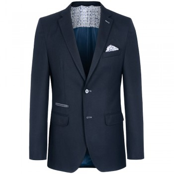 Mens dress sports jacket blue for men