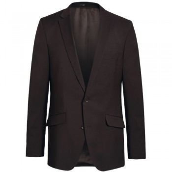 Mens suit jacket brown dress jacket for men - 100% virgin wool