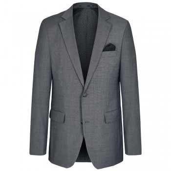 Mens suit jacket gray dress jacket for men | stretch