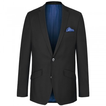 Mens suit jacket black dress for men | AMF-stich