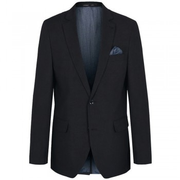Mens jacket black | dress jacket for men black | stretch