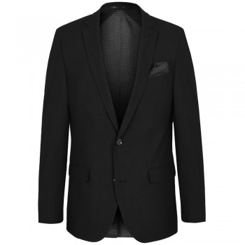 Mens suit jacket black dress sports jacket for men | stretch