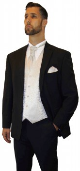 Wedding tuxedo suit black