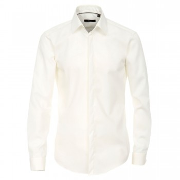 Slim fit wedding or party shirt champagne HL90
