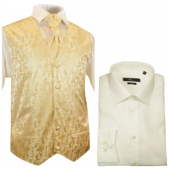 Wedding Vest Set +  Shirt