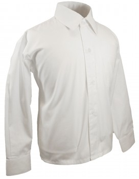 Boys shirt white festive