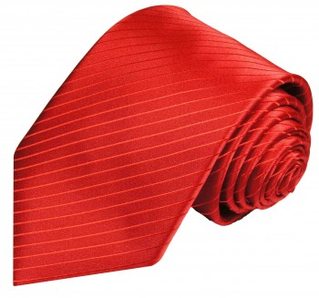 Paul Malone tie red necktie solid v24