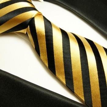 goldene krawatten set 2tlg seidenkrawatte einstecktuch. Black Bedroom Furniture Sets. Home Design Ideas