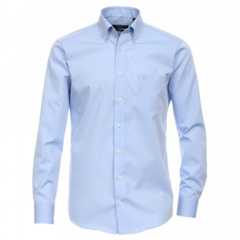 Casa Moda shirt HL12 light blue button-down collar