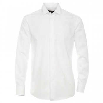 Casa Moda shirt HL25 white smoking collar