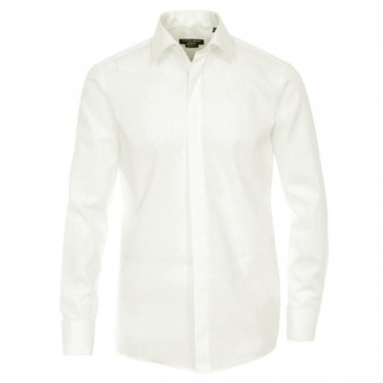 Casa Moda shirt HL2 ivory spread collar - Comfort Fit shirt for men