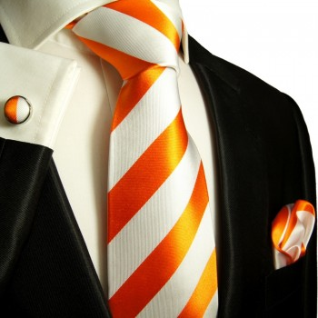 orange necktie
