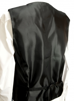 WEDDING VEST SET black red and Shirt Slim Fit creme V4HL82