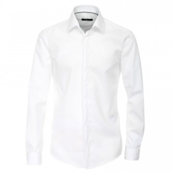 Venti modern fit wedding or party shirt white HL89