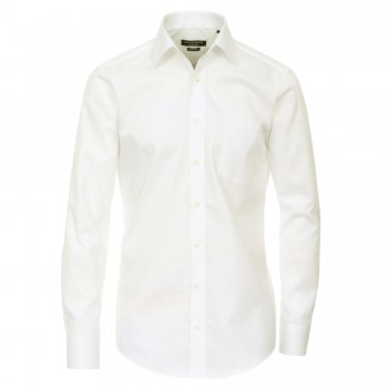 Casa-Moda mens shirt ivory | modern fit long sleeve dress shirt | Modern Fit | 100% cotton HL31