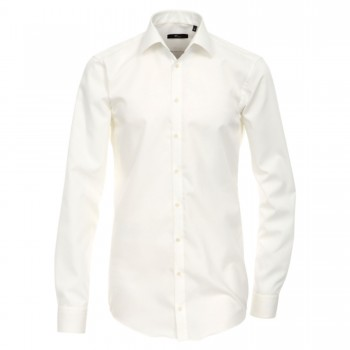 Venti shirt Slim Fit cream long sleeve 69cm HL85