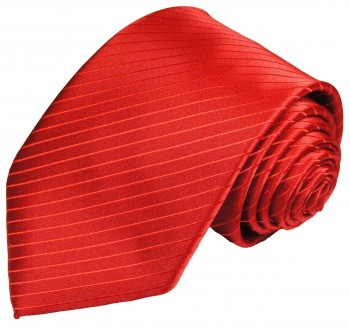 Red tie for wedding solid pattern v24