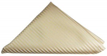 Cappuccino striped pocket square | handkerchief Hv28