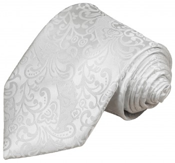 White tie for wedding baroque pattern v43