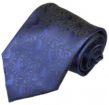 Blue tie for wedding pattern v8