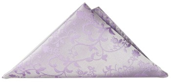 Purple lilac floral pocket square | handkerchief Hv93